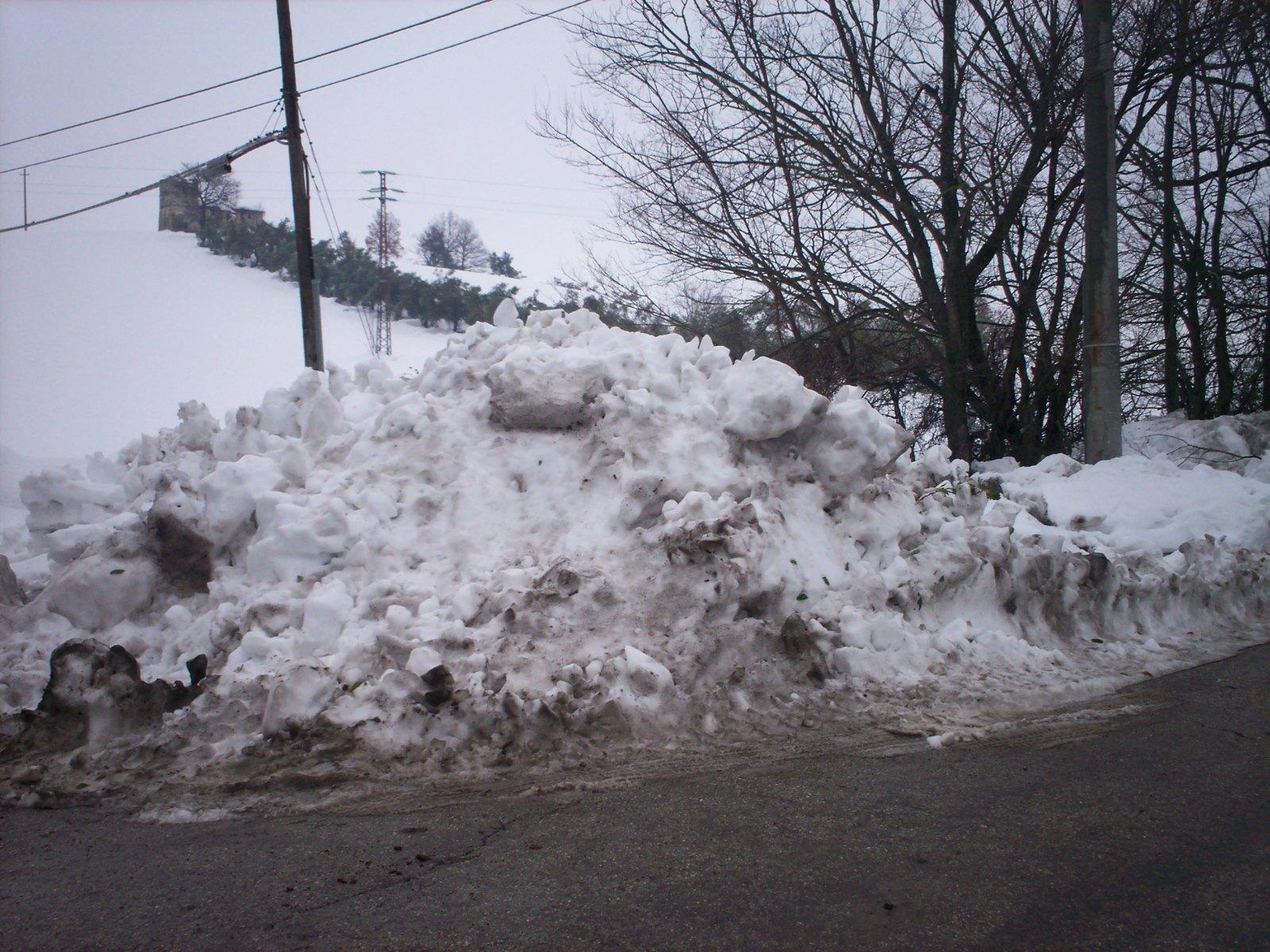 2017 nevicata straordinaria Teramano