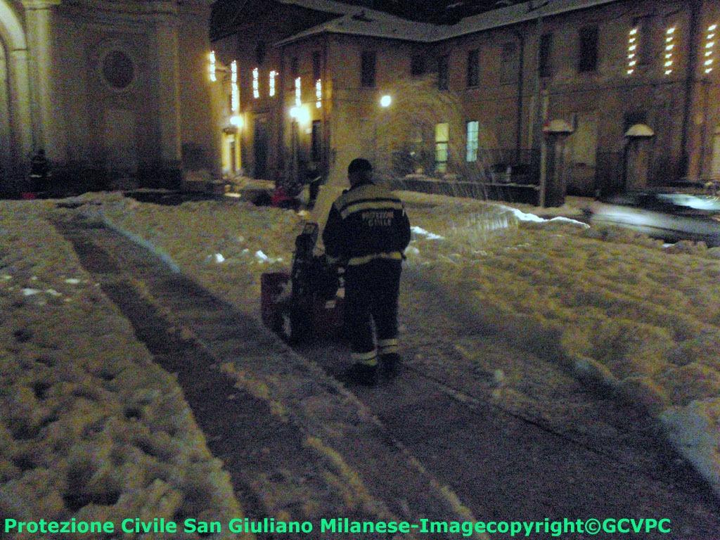 2009 emergenza neve
